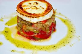 Toc De Cuisine - tapas escalivada con queso de cabra picture of toc s girona