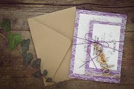 rustic wedding invitation kits custom rustic wedding invitation kits decorated with
