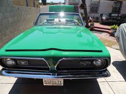 Buy Used Cars Los Angeles Ca 1969 Plymouth Barracuda For Sale Classiccars Com Cc 884523