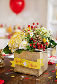 Baby Shower Flower Centerpieces by 35 Stylish Winnie The Pooh Baby Shower Ideas