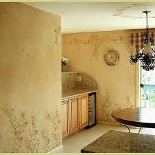kitchen stencils designs wall stencils birds and flowers in the kitchen beautiful stencil