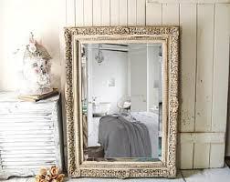 large vintage mirror etsy