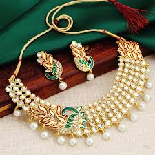 jewellery pearl necklace images Pearl necklaces buy trendy collection of pearl necklace online jpg