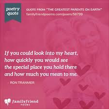 thank you poem to parents the greatest parents on earth