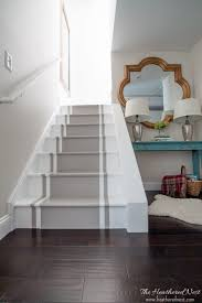 Hardwood Flooring On Stairs Stop And Stare
