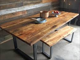 Distressed Black Dining Table Kitchen White And Brown Dining Table How To Paint Furniture