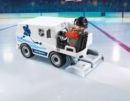 amazon com playmobil nhl zamboni machine toys u0026 games