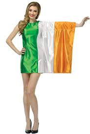ireland flag dress costume costume craze