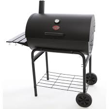 Backyard Pro Grill by Char Griller Deluxe Barrel Charcoal Grill Walmart Com