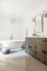 modern french country ensuite renovation reveal featuring cast