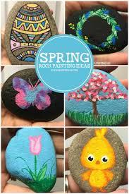 spring painting ideas spring rocks rock painting ideas for beginners rock painting 101
