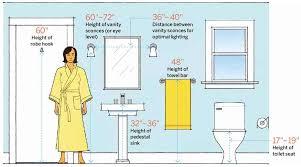 Standard Height Of Bathroom Mirror Bathroom Sconce Height Charlottedack