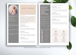 Good Resume Templates For Word by Resume Template For Ms Word Resume Templates Creative Market