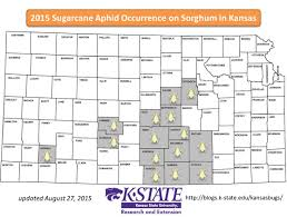 Kansas State Map Sarah Zukoff Extension Entomology