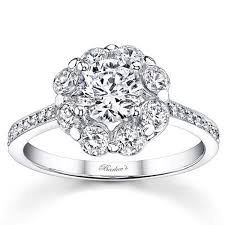 flower engagement rings barkev s flower halo diamond engagement ring