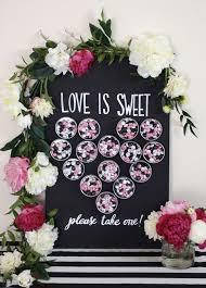 wedding party ideas kara s party ideas diy wedding party favor magnet chalk board