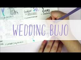 Wedding Planner Journal Plan With Me Bullet Journal Wedding Youtube