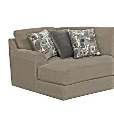 malibu modular sectional w piano wedge taupe sectionals