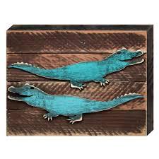 alligator wall art shenra com