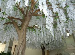 wedding decoration supplies gnw bls080 durable and burly white wisteria trees wedding