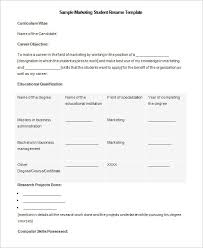 Microsoft Word Resume Templates 2007 Microsoft Word Resume Template 2007 Build A Free Resume Online