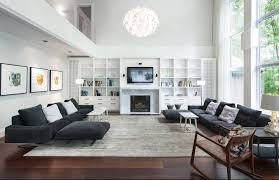 Family Room Wall Ideas by Large Family Room With Fireplace And Wall Of Windows Internetdir Us