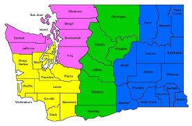 Map Of Washington State by Information Washington