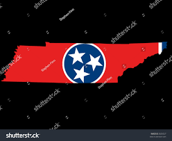 Map Of Tennessee State by Map State Tennessee Their Flag Stock Vector 3020527 Shutterstock