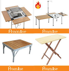 Bbq Tables Outdoor Furniture by Yongkang Outdoor Aluminum Camping Kitchen Table Stand Bbq Table