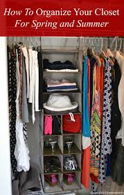 How To Organize A Closet Organizing Your Closet For Spring And Summer Exquisitely Unremarkable
