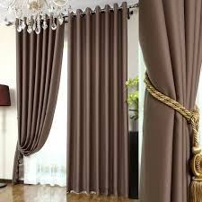 livingroom curtains coffee color blackout living room chic style curtains buy coffee