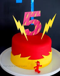 kara u0027s party ideas flash birthday cake from a superhero birthday