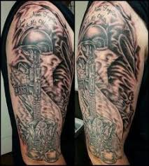soldier cross tattoo with flag tattoosbasket pinterest