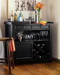 wooden black wine storage console sideboard buffet cabinet wd