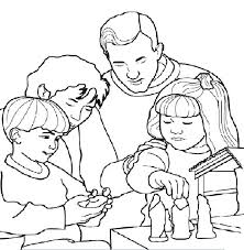 all saints day coloring pages all saints day family activity