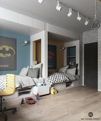 imaginative kids room design ideas with cartoon wallpaper dream