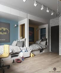 Bedroom Designs For Boys Children Imaginative Kids Room Design Ideas With Cartoon Wallpaper Dream