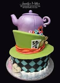 alice in wonderland cake by artediamore on deviantart