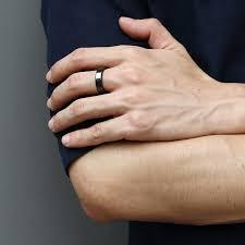 8mm ring size unisex wedding band ring engagement black high polished ceramic