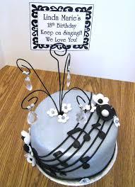 music cake a creative touch