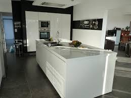 cuisine blanche avec ilot central cuisiniste nancy beautiful cuisine cuisine jardin galerie