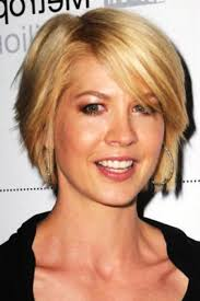 short haircut for thin face short hairstyles oblong face