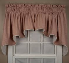 gingham curtains u0026 check print curtains window toppers