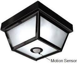 indoor motion sensor light fixture automatic light switch