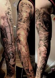 sweet greek mythology sleeve tattoo design for boys picsmine