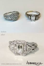 wedding rings redesigned 18 best redesigned jewelry and restoration of inherited jewelry
