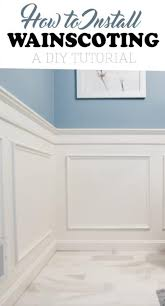 Installing Wainscoting In Bathroom - how to install wainscoting craving some creativity