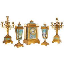 Mantle Piece Clock Bronze Mantel Clocks 327 For Sale At 1stdibs