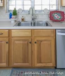 Kitchen Organization Tips Postcards From The Ridge - Kitchen sink area