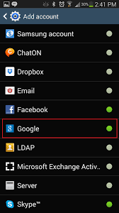 deluge android android enable the contact recognition feature